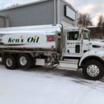 Picture of Ken's Oil and Heating Oil Trucks.